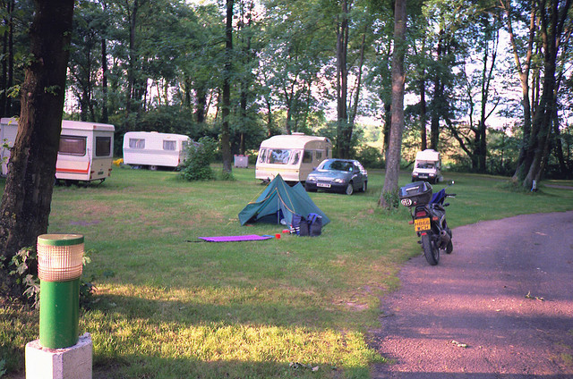 Campsite Site in France