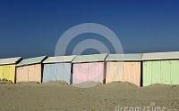 Berck, Northern France beach huts