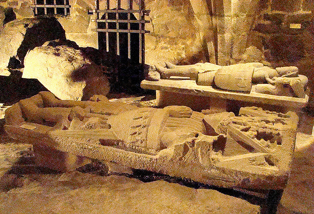 Crypt of Chateau de Dinan