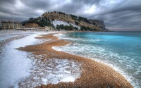 Cassis Beach Water