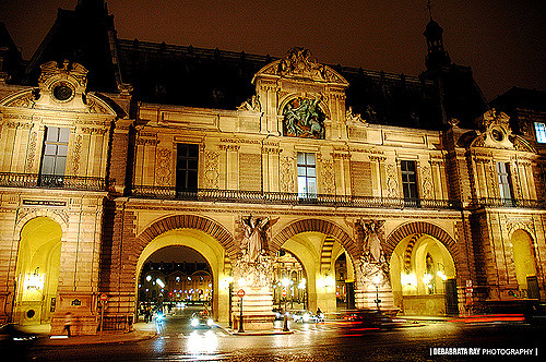 Main Entrance of louvre