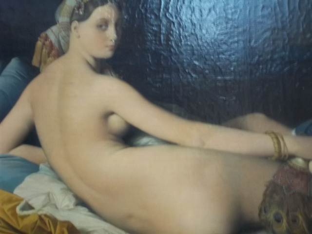 Naked Womain in Louvre