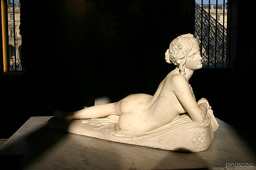 Naked Woman Sculpture